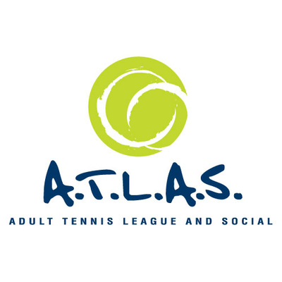 Adult Tennis League and Social Shreveport Logo Design