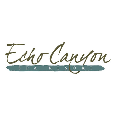Echo Canyon Spa Resort Sulpher Oklahoma Logo Design