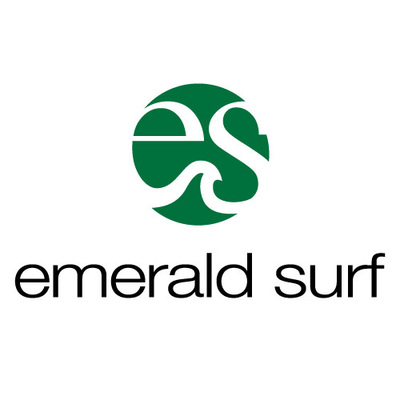 Emerald Surf Logo Design Shreveport