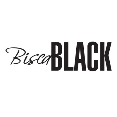 Bisca Black Logo Design Stonewall
